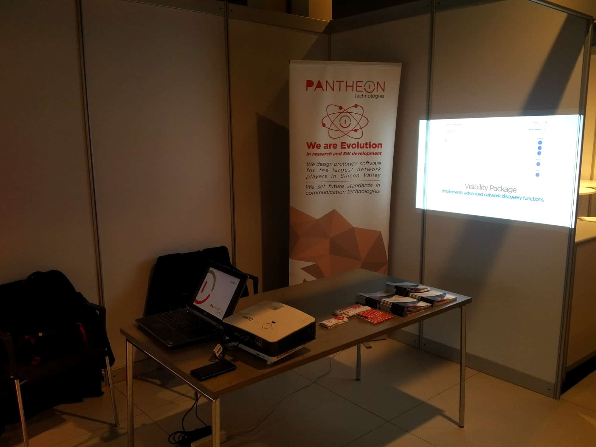 Pantheon Technologies booth @ SDN NFV, Hague