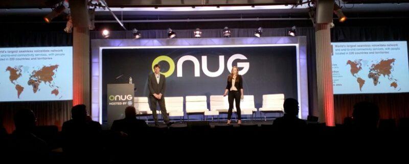 ONUG 2017 stage