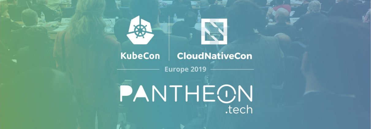 KubeCon - CloudNativeCon - PANTHEON.tech 2019