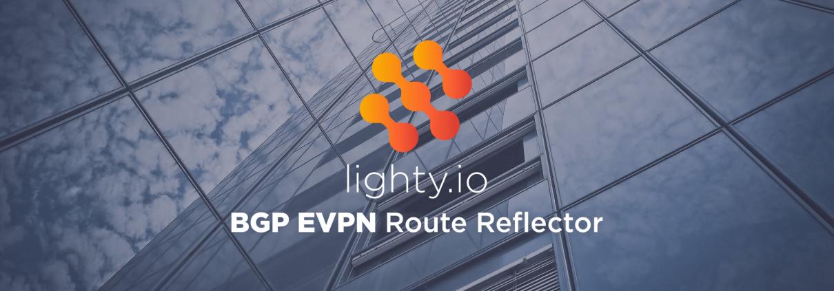 lighty.io BGP EVPN Route Reflector featured image