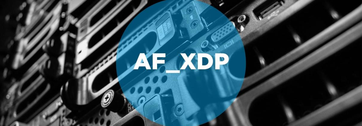 AF_XDP featured image / logo