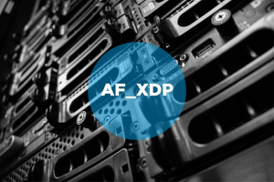 AF_XDP featured image / logo