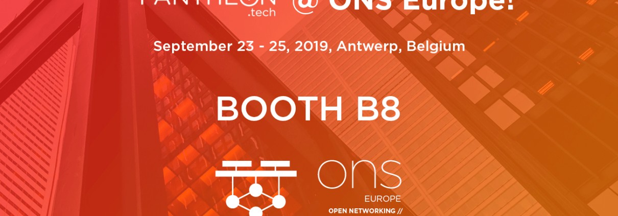 PANTHEON.tech at ONS19 LinkedIn ad