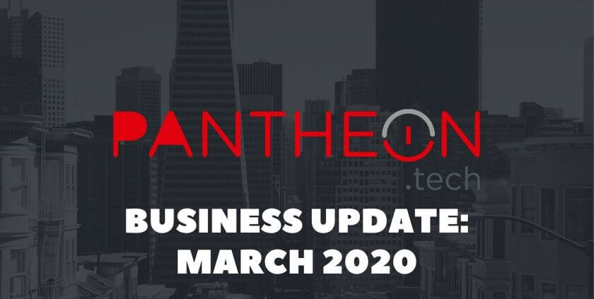 Business Update for March 2020