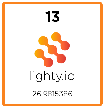 lighty.io's 13th release!