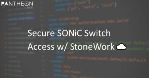 SONiC w/ IPSec & StoneWork