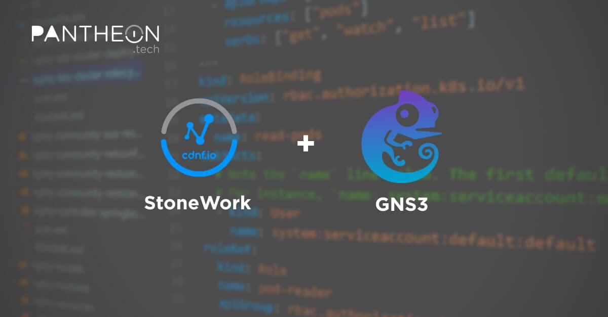 StoneWork + GNS3